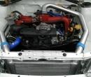 Nagrad Subaru Legacy RS Aluminium Wasserkühler, Front Alu Ladeluftkühler-Intercoole