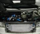 Nagrad VW Transporter T4 Front Alu Ladeluftkühler-Intercooler